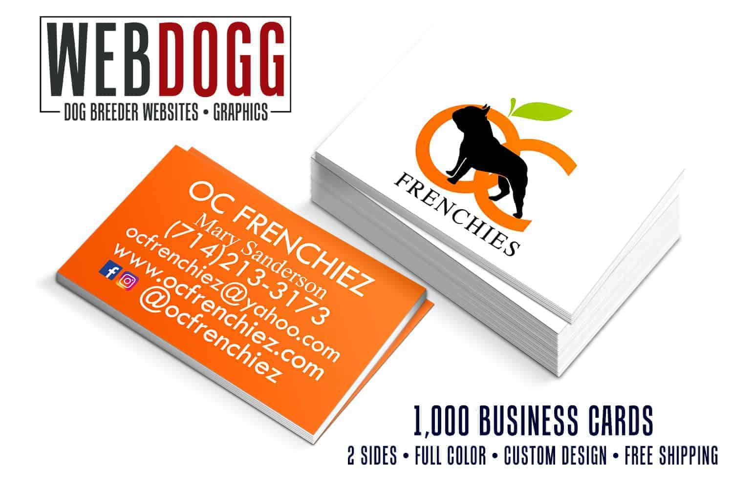 Dog business cards kennel business cards printing 99 business cards colourmoves