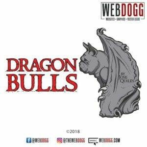 Dragon Bulls - French Bulldog Breeder Logo Design