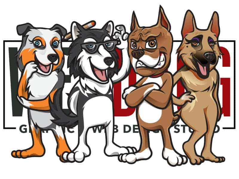 Dog Breeder Graphic & Web Design Services - WEBDOGG