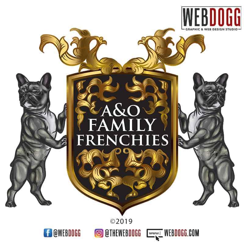 A&OFamilyFrenchies_BreederLogoDesign