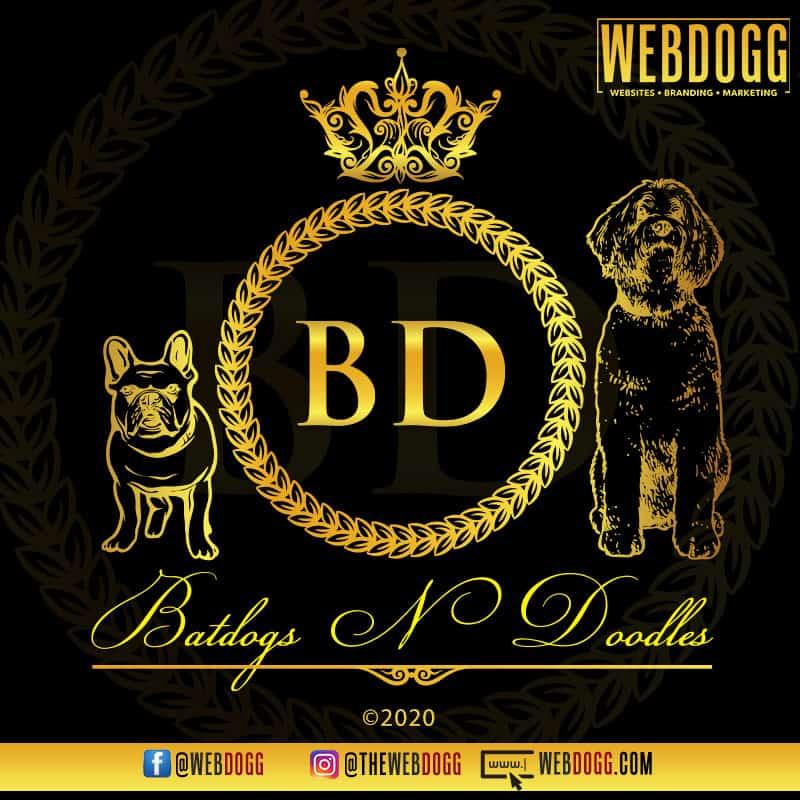 Batdogs N Doodles - Breeder Logo Design