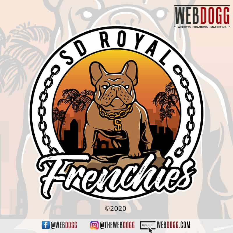 SD Royal Frenchies - Logo Design