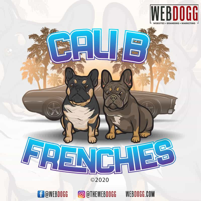 Cali B Frenchies - Logo Design