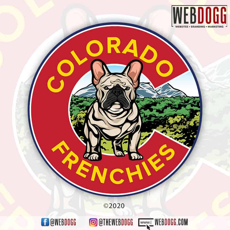 Colorado Frenchies - Logo Design