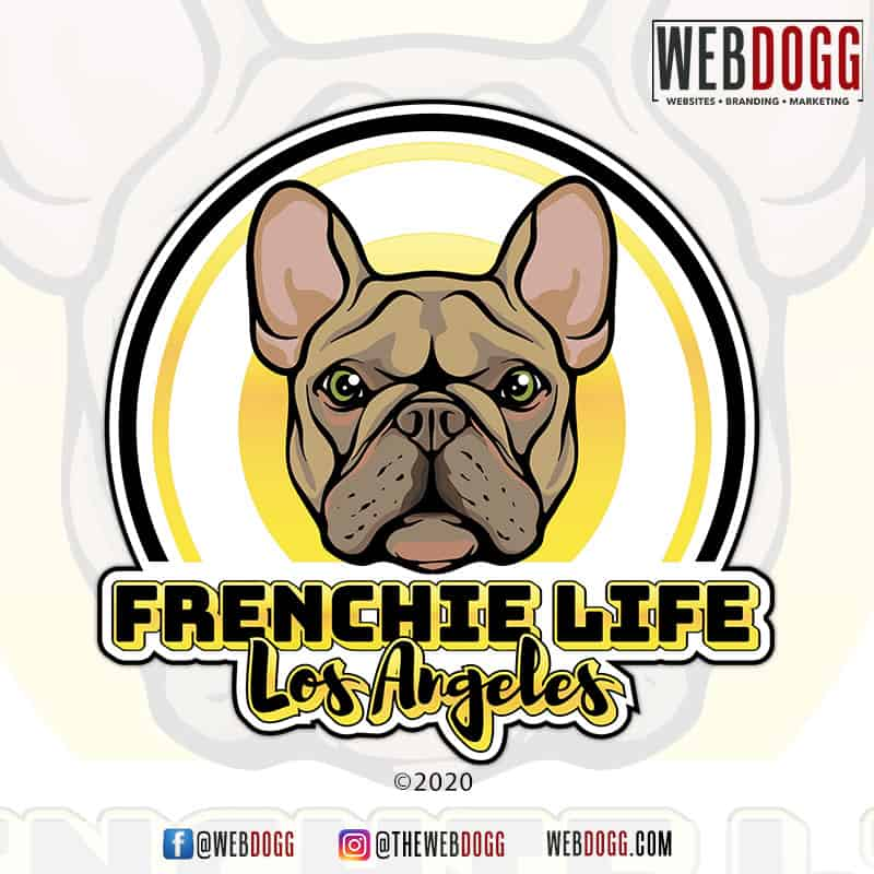 Frenchie Life Los Angeles - Logo Design
