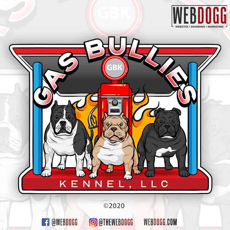 Gas Bullies Kennel - Logo Design
