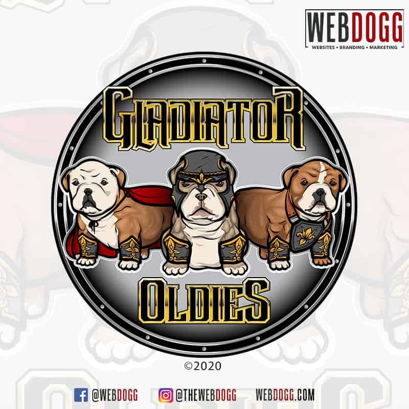 Gladiator Oldies - Logo Design