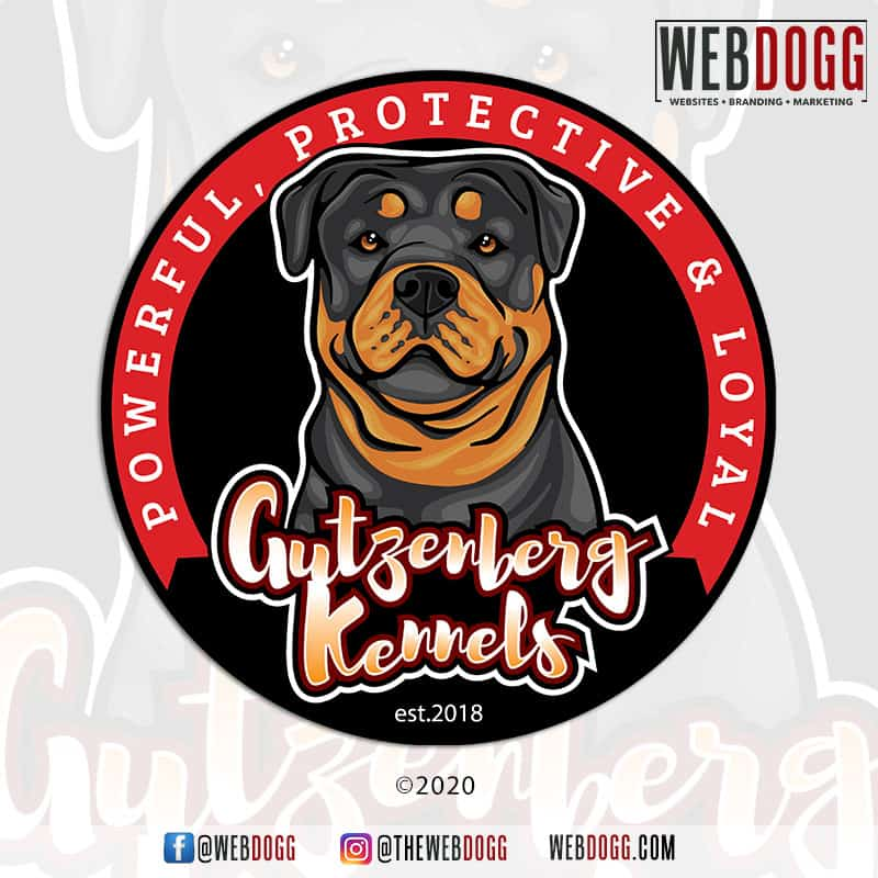 Gutzenberg Kennels - Logo Design