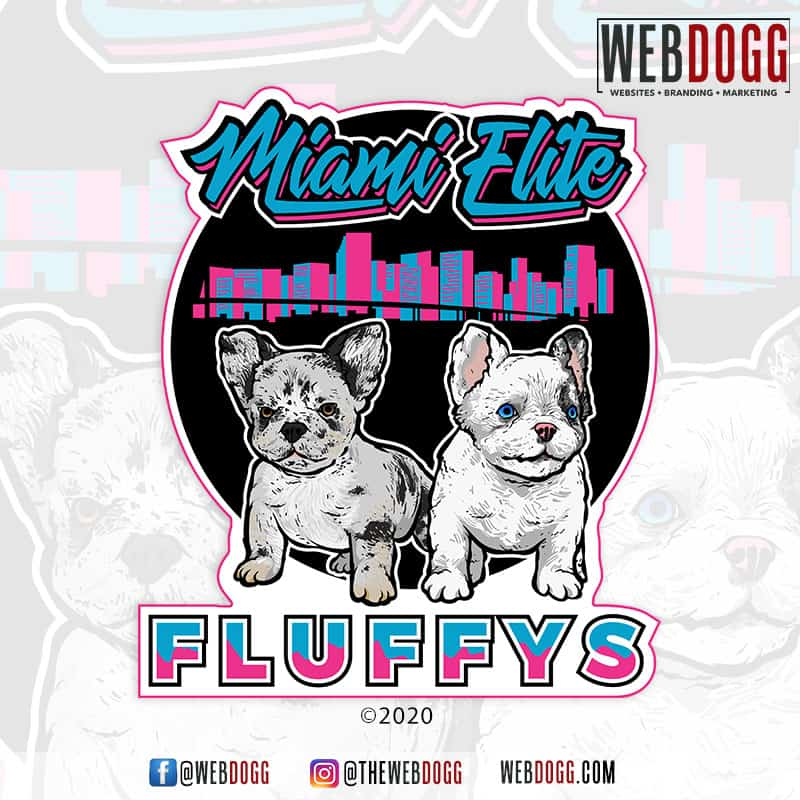 Miami Elite Fluffys - Logo Design