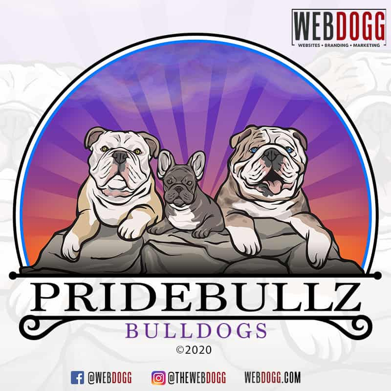 Pridebullz Bulldogs - Logo Design