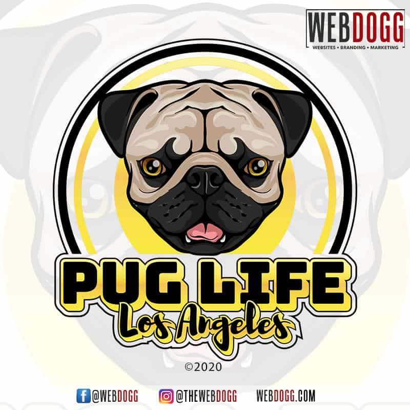 Pug Life Los Angeles - Logo Design