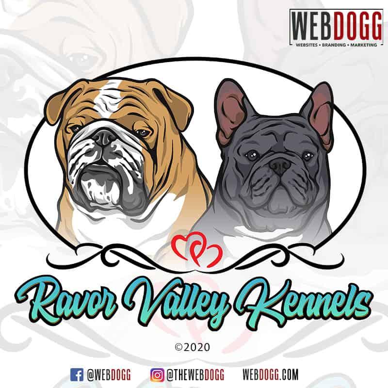 Ravor Valley Kennels - Logo Design